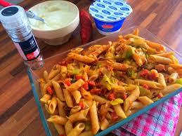 gratin de pâtes au chorizo et poireaux culinarium