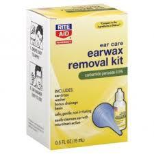rite aid pharmacy earwax removal kit 1 kit 7 99 rite aid