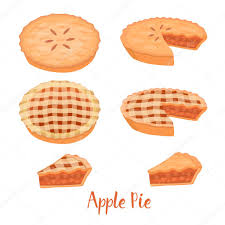 Apple Pie illustration — Stock Vector