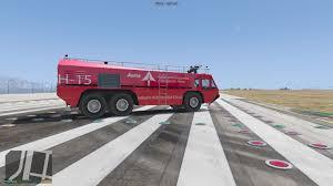 100 Airport Fire Truck Madrid Aena GTA5Modscom