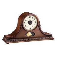 Movado Mini Desk Clock by Battery U0026 Quartz Mantel Clocks Clockshops Com