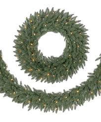 Noble Fir Unlit Artificial Christmas Tree by 32 U2033 Prelit Monticello Regency Fir Artificial Christmas Wreath