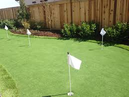 Lawn Services Ross Ohio fice Putting Green Backyard