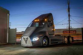 Electric Truck To Enter Market With 'swappable' Batteries