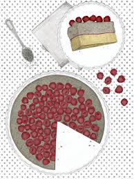 mohn pudding kuchen mit frischen himbeeren new cakes on