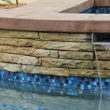 pool tile ideas shellstone pool deck marble tile pools