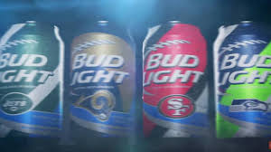 Bud Light introduces new cans for 28 NFL teams NFL