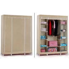 Cupboard Amart Clothes Combination Wardrobe Storage Portable
