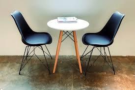 voll schwarz minimalistischen moderne desgn kunststoff und metall stahl bein esszimmer stuhl moderne home möbel einfache design schwarz stuhl 1pc