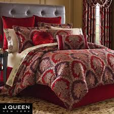 J Queen Brianna Curtains by Sauvignon Damask Comforter Bedding By J Queen New York