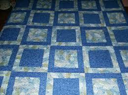 potato chip block pattern queen quilt by madeinusabylinda on etsy