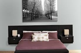 Black Leather Headboard King Size by Wall Mounted Leather Headboard 5 Cool Ideas For Wall Mounted