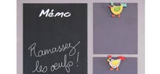 tableau memo cuisine décoration tendance c tendance