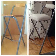 DIY Upholstering Bar Stools - Natalie's Creations - YouTube My Lazy Girls Guide To Reupholstering Chairs A Tutorial Erin Diyhow To Reupholster Ding Room Chair With Buttons Alo Pating Upholstery Paint Fniture Change And Fabric Fniture Simple Tips On How To Upholster Chair Chiapitaldccom 25 Unique Reupholster Couch Ideas On Pinterest Modern Sectional Modest Maven Vintage Blossom Wingback Reupholster A Wingback Chair Diy Projectaholic Seat Diy Make Arm Slipcovers For Less Than 30 Howtos Childs Upholstered Children S Best Upholstery Chairs