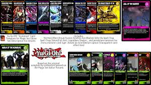 Yugioh Pendulum Deck Link Format by Series 10 Mse Template 2017 Link Lq Edition By Serenade87 On