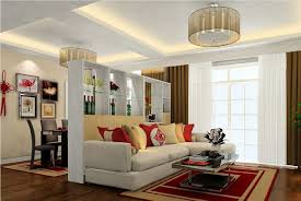Decorative Partition Design For Living Room And Dining Hall Splendid
