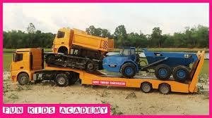 100 Dump Trucks Videos Excavator For Children Excavator JCB Truck Truck And