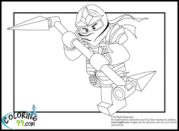 Green Ninjago Coloring Pages