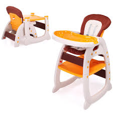 LAZYMOON 3 In 1 Toddler Highchairs Booster Seats Convertible High Chair W/  Feeding Tray Yellow Folding Baby High Chair Recline Highchair Height Adjustable Feeding Seat Wheels Hot Item Sale Quality Model Sitting With En14988 Approval Chicco Polly Magic Singapore Free Shipping Sepnine Wooden Dning Highchairs Right Bubbles Garden Blue Best Selling High Chair The History And Future Of Olla Kids Buy Latest Booster Seats At Best Price Online Amazoncom Gperego Tatamia Cacao