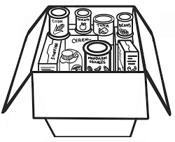 Canned Food Clipart Black And White 1304