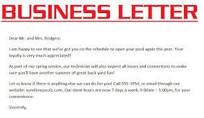 business letter example 3000 sample business letter