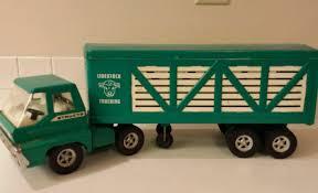 100 Livestock Trucking Vintage Structo Turbine SemiTruck Pr Steel 22
