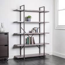 KSP Studio 5 Shelf Bookshelf Brown