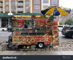 Food Trucks Vendors New York City Stock Photo (Edit Now) 1196949529 ...