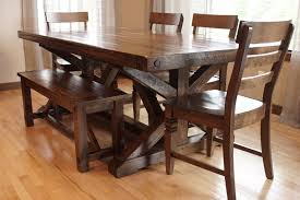 Chateau Trestle Dining Table In Calgary Alberta Liken Woodworks
