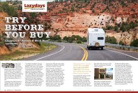 100 Truck Rental Tucson Lazydays RV Featured In Trailblazer Magazine