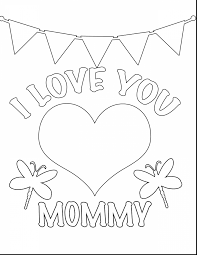 Great Valentines Day Coloring Pages With For And