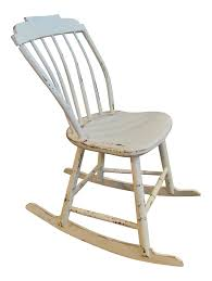 Ivory White Wood Farmhouse Rocking Chair | Chairish Illustration Of A Rocking Chair With Shabby Chic Design Royalty Antique Creamy White In Norwich Vintage Blue Painted Vinterior Extra Distressed Finish Church Chapel Chairs Cafujefodotop Page 78 Shabby Chic Wooden Chairs Modern Floral Diy Girls Build Club Update A Nursery Glider The Mommy Chair White Nursery Farnborough Hampshire Grey Rocking Sandiacre Nottinghamshire Gumtree Doll Etsy Grey Cv11 Nuneaton And Bedworth For