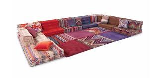 mah jong canapé modular sofa contemporary fabric 7 seater and up mah jong