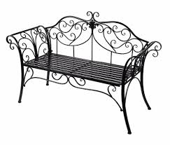 Vintage Wrought Iron Porch Furniture by Wrought Iron Garden Bench Image On Astounding Outdoor Furniture