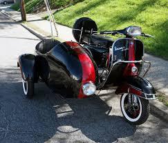 Vintage Vespa Sidecar