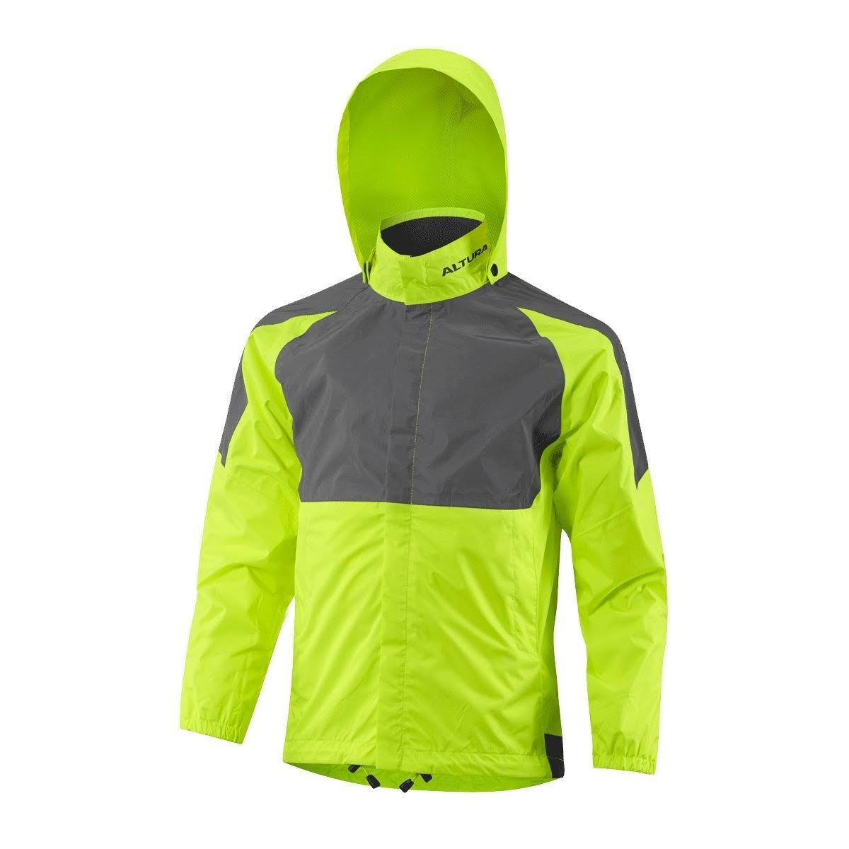 Altura Youth Nightvision 3 Waterproof Jacket 2017: Hi-Viz Yellow