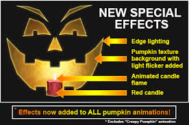 Singing Pumpkins Grim Grinning Pumpkins Projector by Window Creeps Pumpkin Animation And Other Looping Animation