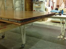 Decorative Metal Banding For Furniture by How To Design And Build An Extra Large Sapele Dining Table