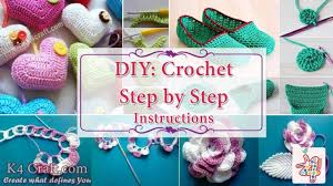 DIY Crochet Step By Instructions With Pictures
