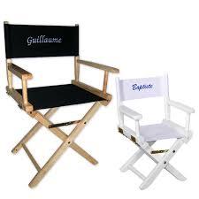 siege metteur en joli cadeau idée cadeau naissance fauteuil de metteur en scène
