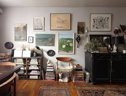 The Studio Apartment That Breaks All The Small-Space Rules - Home ... The Art Of Haing Brooklyn Home Street Artist Kaws Has Design And More 453 Best Metallic Abstract Patings Images On Pinterest Best 25 Pating Studio Ideas Paint Artdecodoreelephaintheroom Pinteres In Small Studios Crafts To Do With Paper Decorations Youtube Cheap Decor Ideas Interior 10 Unusual Wall Vesta
