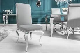 stylischer design stuhl barock grau riess ambiente de