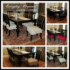 Everyday Elegance Chair Covers Change The Look Of Your Dining Room