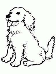 Dog Color Page Animal Coloring Pages
