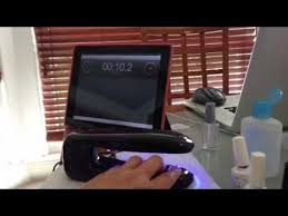 Red Carpet Manicure Led Light by Demo Of Red Carpet Manicure Travel Led Lamp Youtube