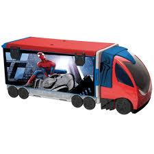 Marvel Spider-Man Playset Truck - £40.00 - Hamleys For Toys And Games Monster Jam Puff Pillow Truck Spiderman Spiderman Truck Adventure Toy Building Zone Lightning Mcqueen Trouble Cars Cartoon For Kids With And The Us Postal Service Editorial Photography Image Seymour Wi August 4 Pulling Hardees Float With Star Blue Dinoco Mack Disney Mcqueen Spiderman Learn Color W Car And Fun Supheroes Fire Bigfoot Monster S Teaching Numbers To Learning Hot Wheels Jam Vehicle Shop Skin Kenworth Tractor American Simulator Man Wearing A Spiderman Costume Haing On Refight Truck Marvel Playset 4000 Hamleys Toys Games