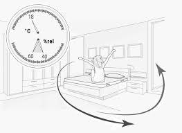 die optimale luftfeuchtigkeit für ideales schlafklima bett1 de