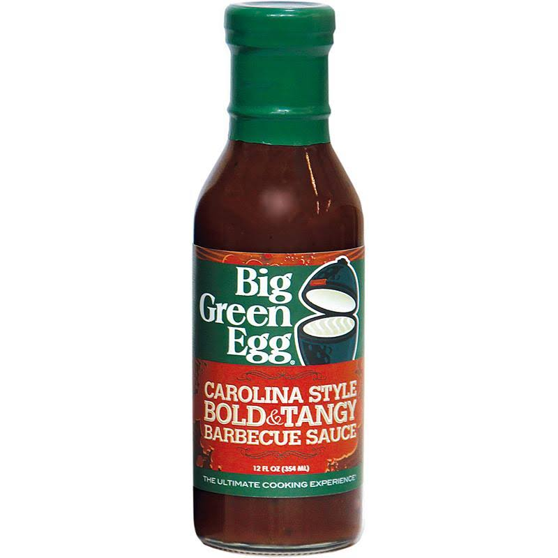 Big Green Egg Carolina Style BBQ Sauce, Bold & Tangy - 12 fl oz bottle