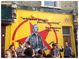 Joe Strummer Mural New York City by 100 Joe Strummer Mural Address Let Fury Have The Hour Book