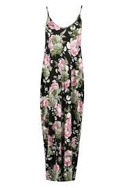 ladies floral baggy sleeveless italian drape ladies cami thin